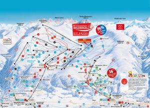 Wildkogel Arena Skikaart